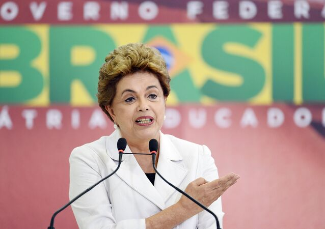 Presidenta do Brasil, Dilma Rousseff, no lançamento da terceira fase do programa Minha Casa, Minha Vida