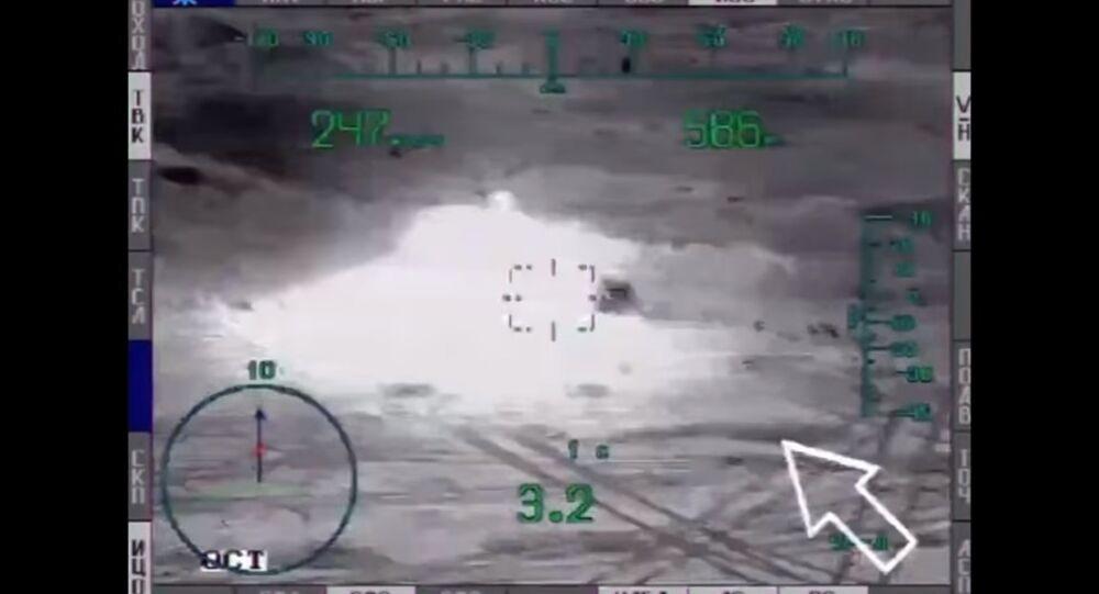 Ministério da Defesa da Rússia publica imagens de ataques ao Daesh em Palmira