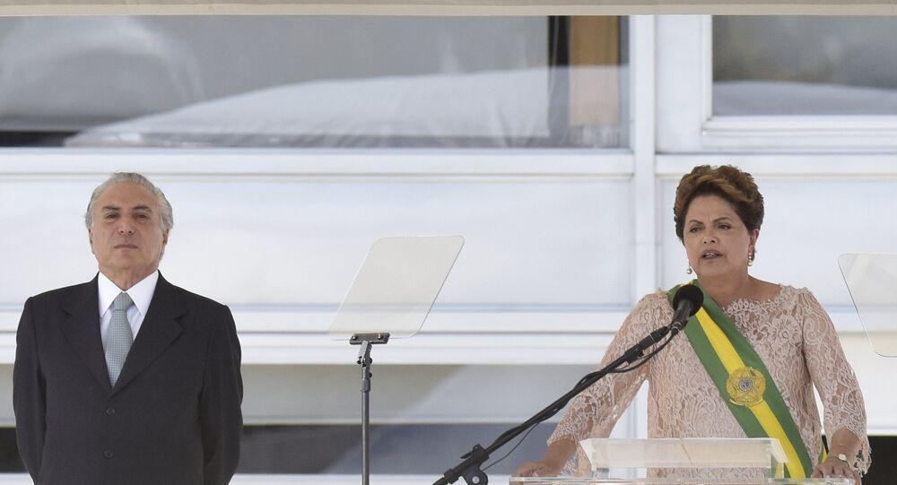 Cerimônia de posse do segundo mandato da Presidenta Dilma Rousseff