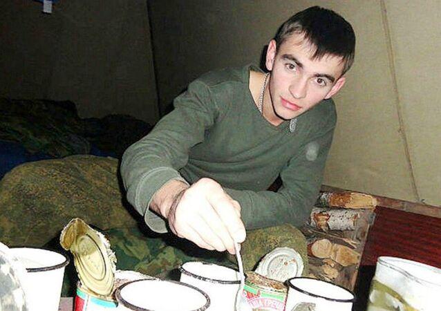 Militar russo Aleksander Prokhorenko que foi morto no combate contra Daesh em Palmira