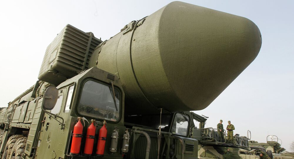 Sistema de míssil Topol M
