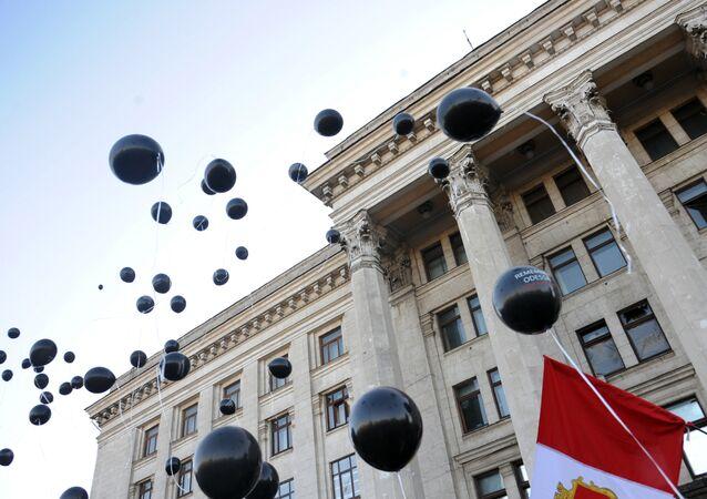 Casa de Sindicatos em Odessa