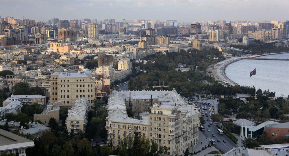 Baku, capital do Azerbaijão