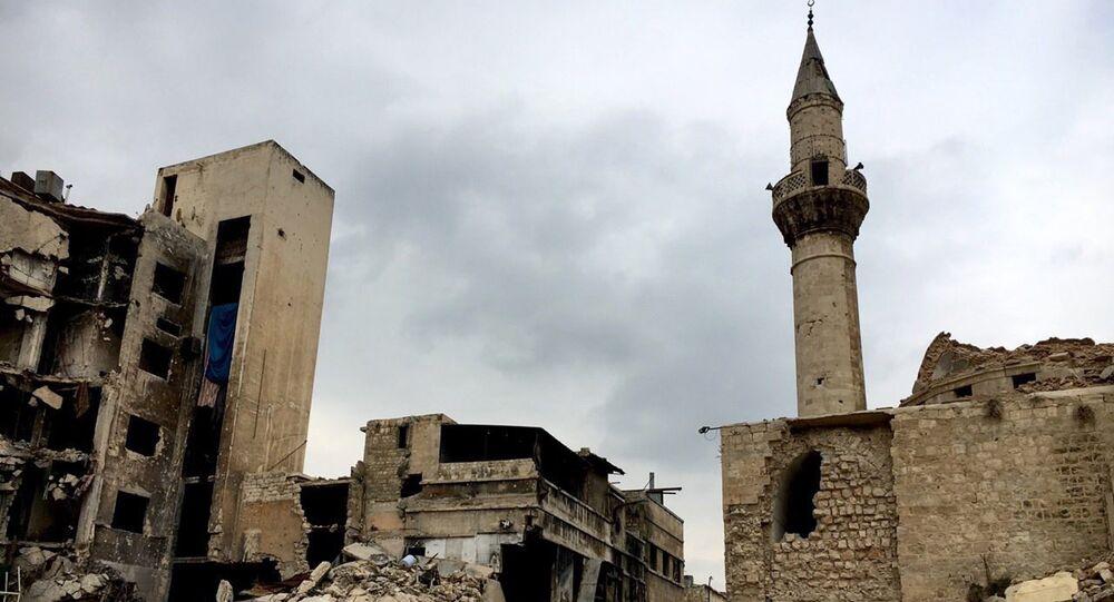 Centro hístorico de Aleppo