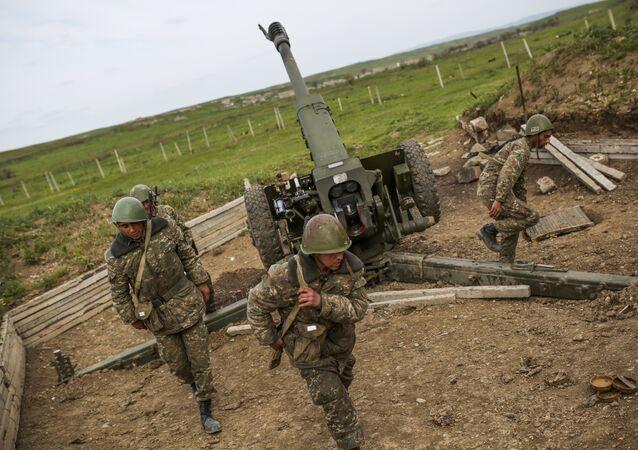 Militares da República de Nagorno-Karabakh