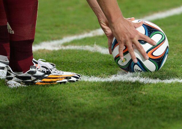 Jogo de futebol (foto de arquivo)