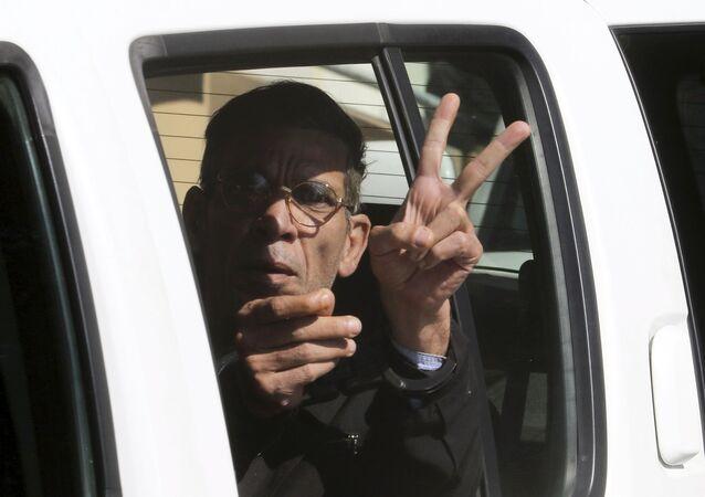 Seif Eldin Mustafa, preso após sequestrar avião da EgyptAir, em 30 de março de 2016.