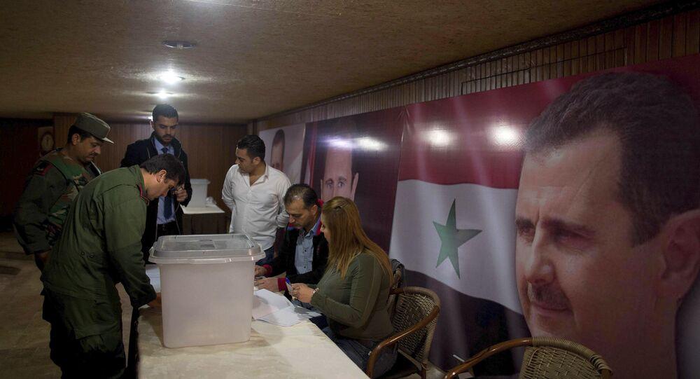 Eleições parlamentares na Síria em 13 de abril de 2016