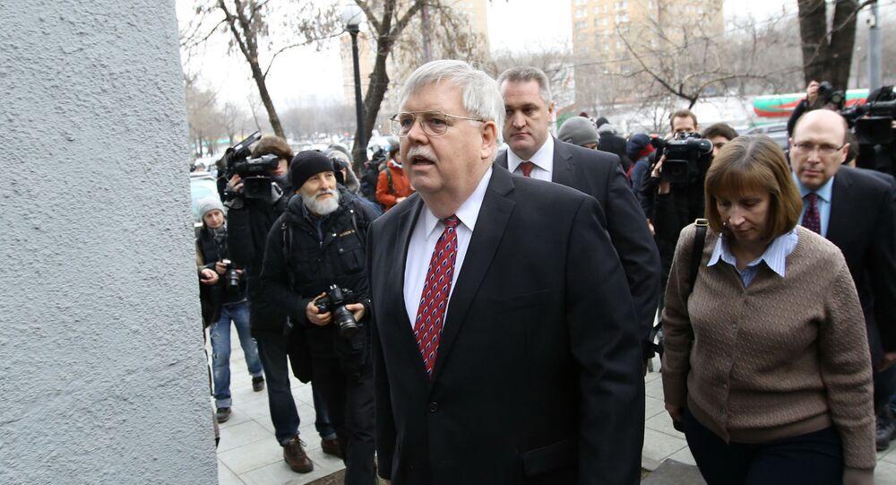 John Tefft, embaixador dos EUA em Moscou