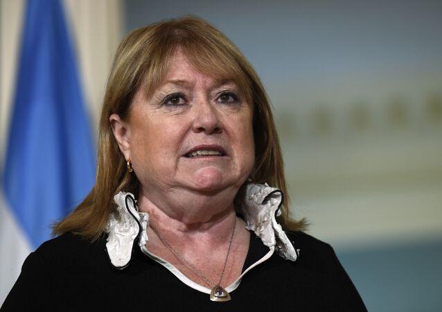 Susana Malcorra, ministra das Relações Exteriores da Argentina