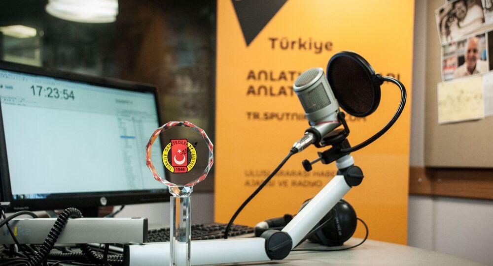 Redação da Sputnik na Turquia