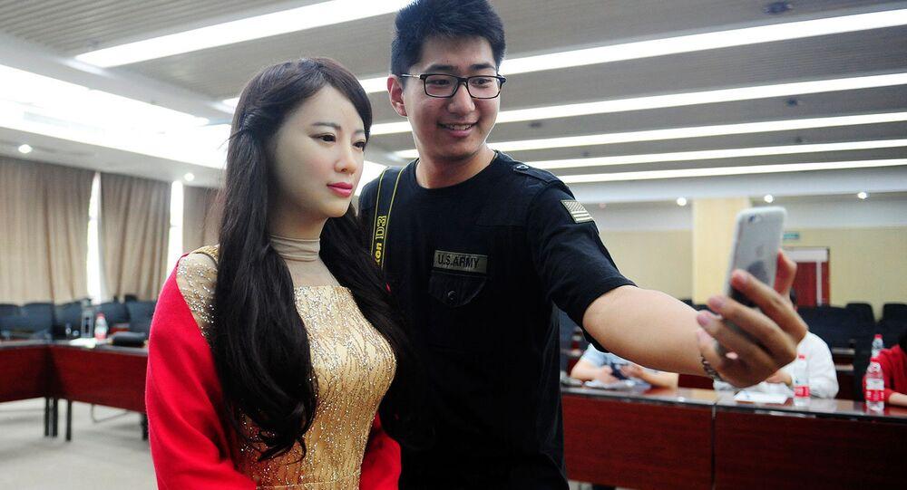 Uma mulher-robô chamada Jia-Jia