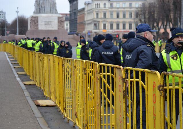 Polícia da Letônia