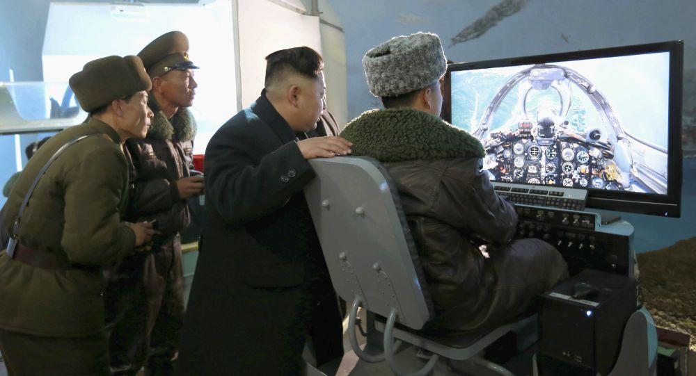 Líder norte-coreano Kim Jong-un inspeciona o Exército