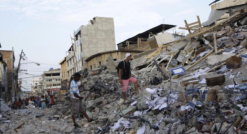 Consequências do terremoto no Equador