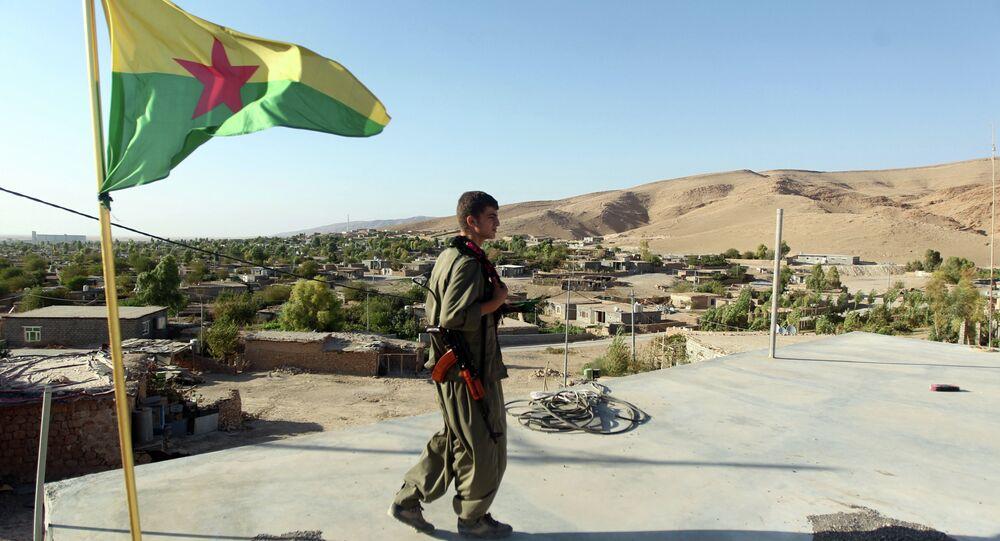 Militante do PKK no norte do Iraque (arquivo)