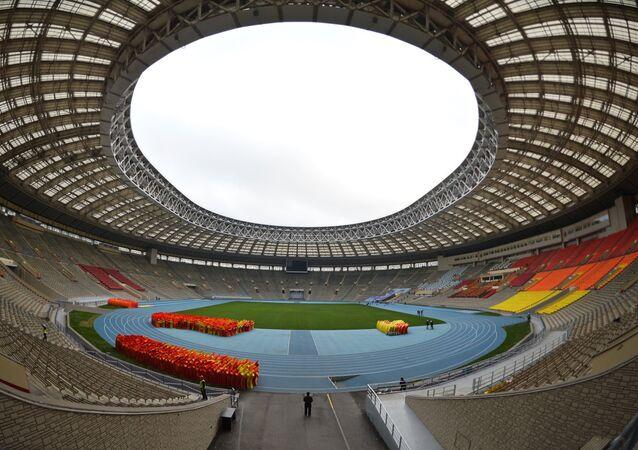 Luzhniki, estádio que receberá a abertura e o encerramento da Copa do Mundo de 2018