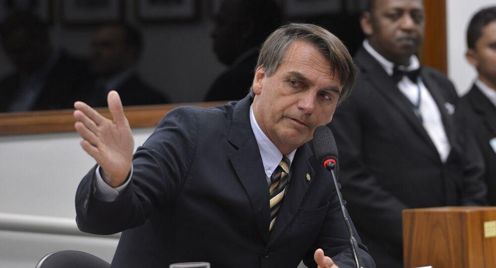 Deputado federal Jair Bolsonaro, pré-candidato à presidência do Brasil