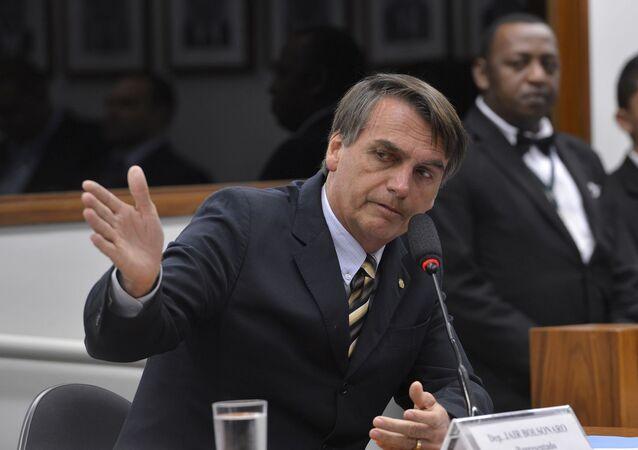 Deputado federal Jair Bolsonaro