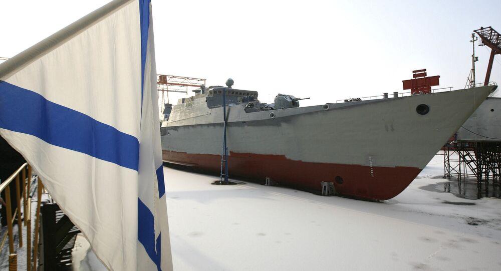 Fragata classe Gepard russa em Tartaristão