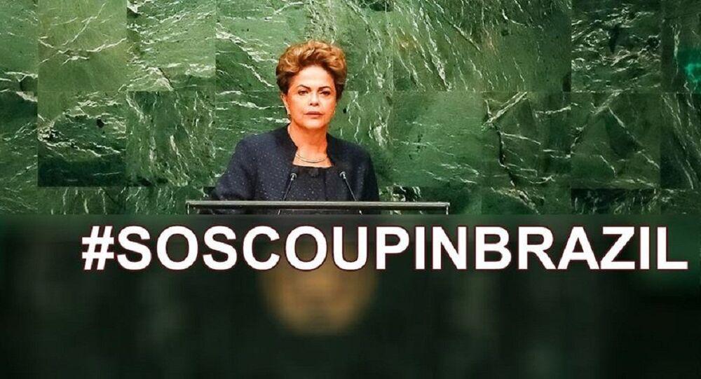 Campanha #SOSCoupInBrazil marca tuitaço mundial nesta sexta-feira (22)