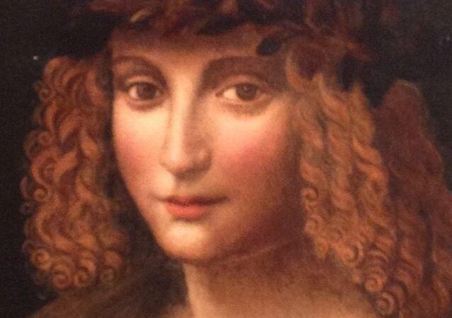 Retrato de Gian Giacomo Caprotti, pintor italiano