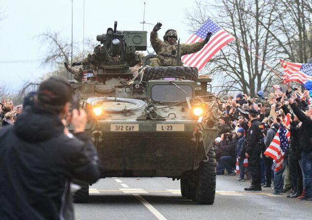 Militares das Forças Armadas dos Estados Unidos (arquivo)