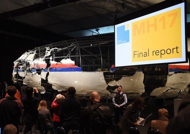 Os resultados da investigação do acidente do avião Boeing 777 da Malaysia Airlines, 13 de outubro de 2015