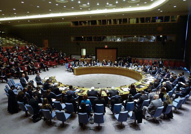 Reunião do Conselho de Segurança das Nações Unidas (arquivo)