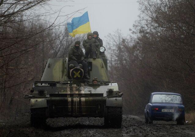 Exército ucraniano (imagem de arquivo)