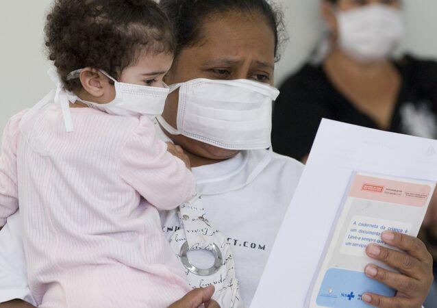 Epidemia de gripe no Brasil (2009, arquivo)