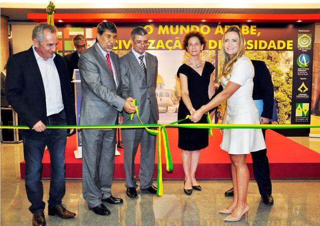 """Exposição """"O Mundo Árabe: Civilização e Diversidade"""", organizada pelo Conselho de Embaixadores Árabes no Brasil e pela Câmara de Comércio Árabe Brasileira"""
