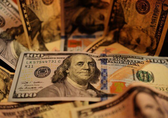 Notas de dólares norte-americanos