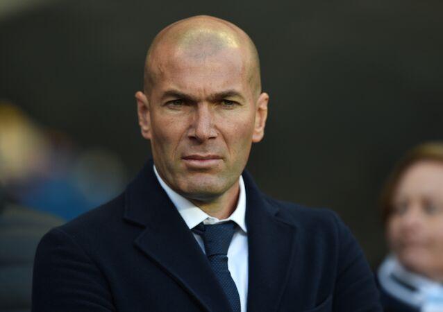 Futebolista famoso Zinedine Zidane