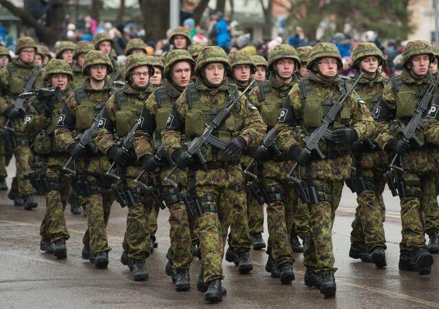 Soldados estonianos