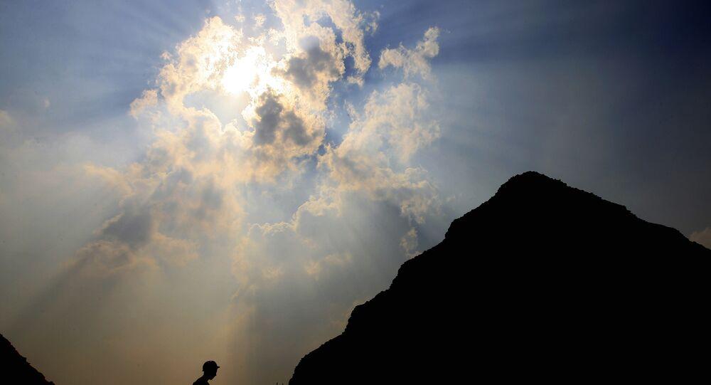 Uma das pirâmides no Egito (foto de arquivo)