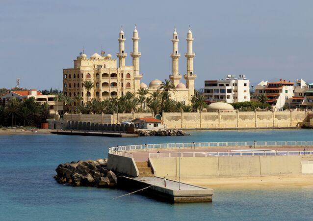 Mesquita Afamia da cidade da Latakia na Síria