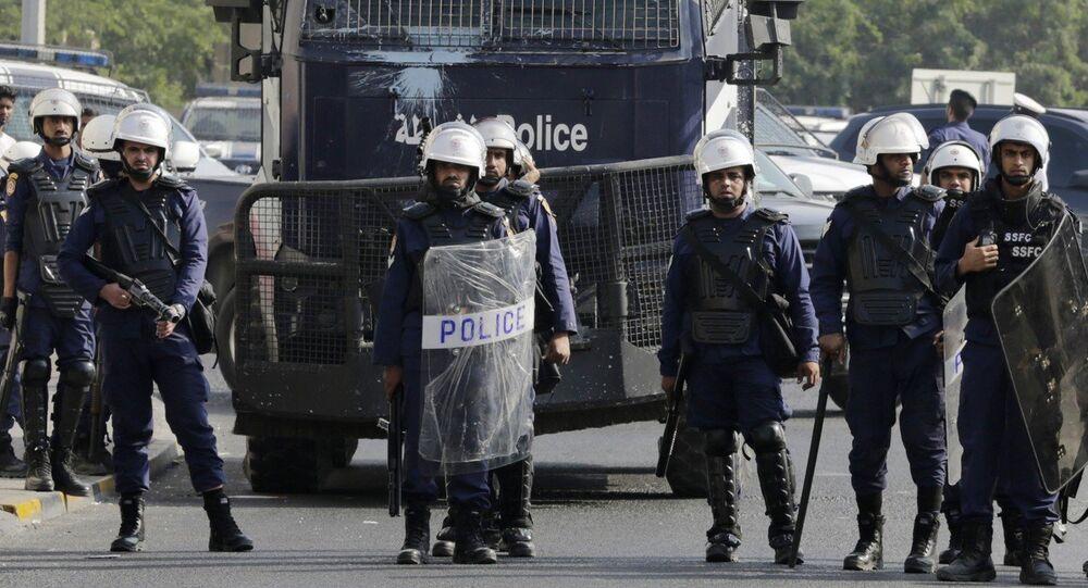 Polícia do Bahrein