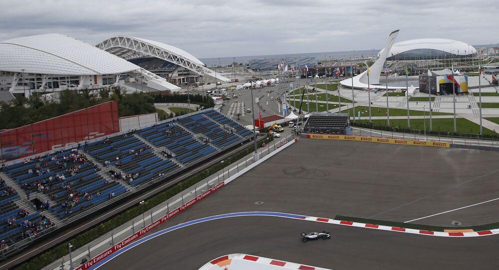 Grande Prêmio da Rússia de Fórmula 1 de 2015 em Sochi