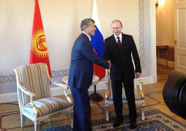 Putin e Atambayev