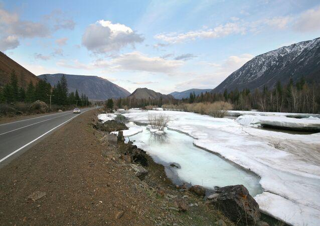 Paisagem de Altai
