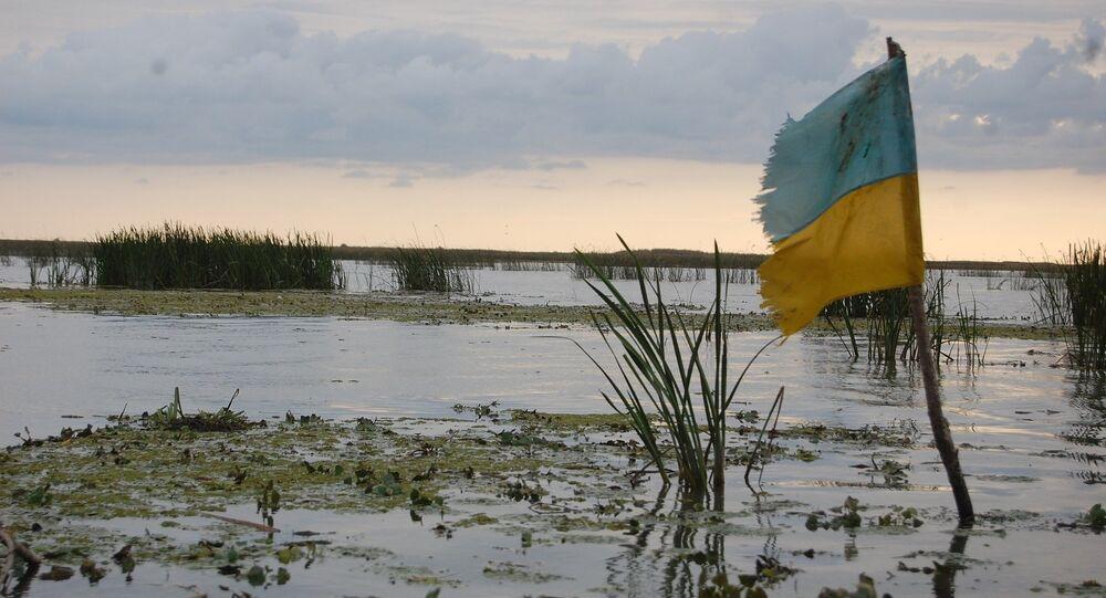 Pântano na Ucrânia