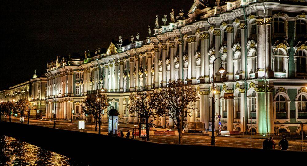 Museu Hermitage, São Petersburgo, Rússia