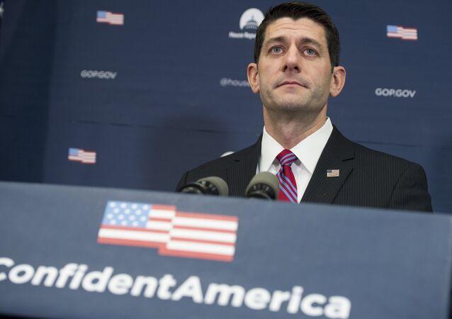 Paul Ryan, presidente da Câmara dos Representantes dos EUA