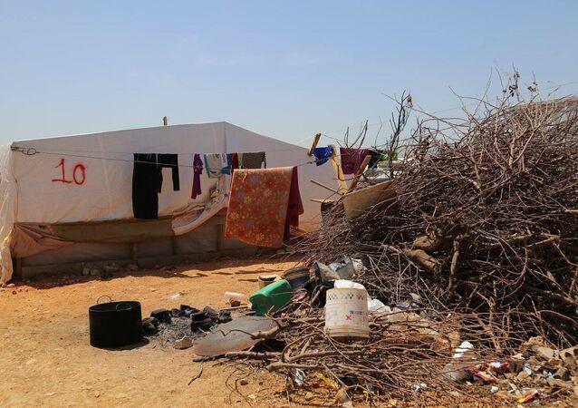 Refugiados sírios na Líbia