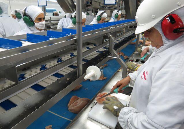 Produção da indústria volta a cair
