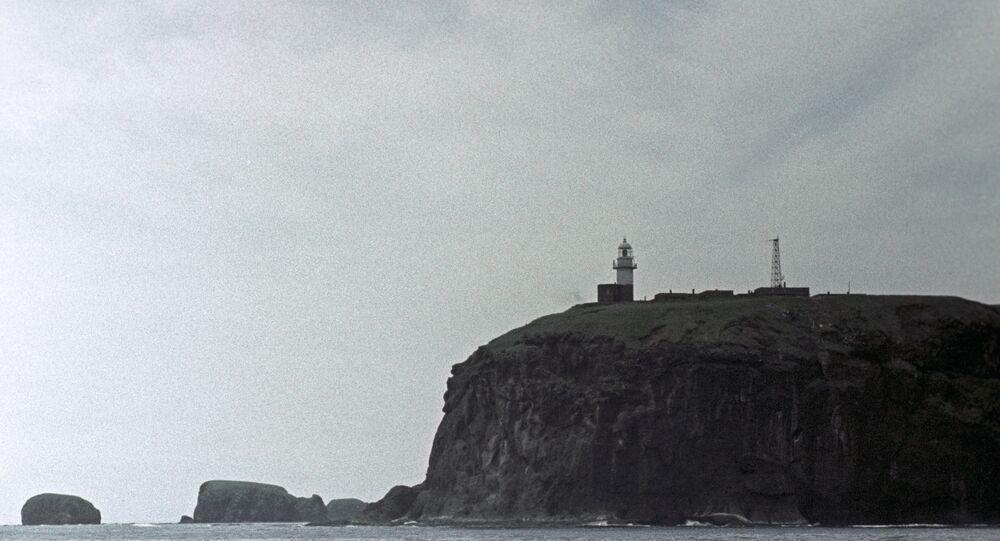 Ilhas Curilhas, ilha Shikotan.