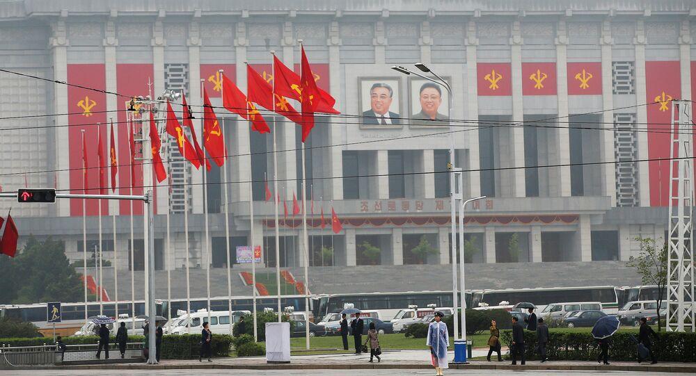 Pyongyang, capital da Coreia do Norte (foto de arquivo)