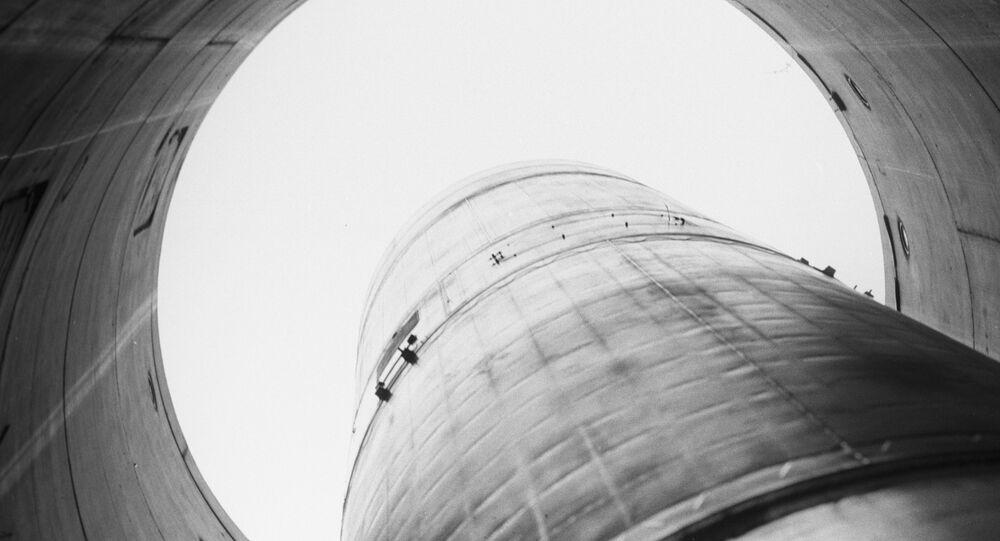 O silo de míssil
