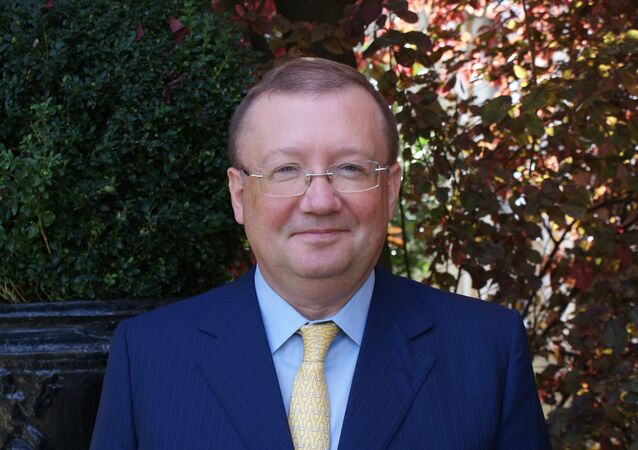 Alexander Yakovenko, embaixador da Rússia no Reino Unido